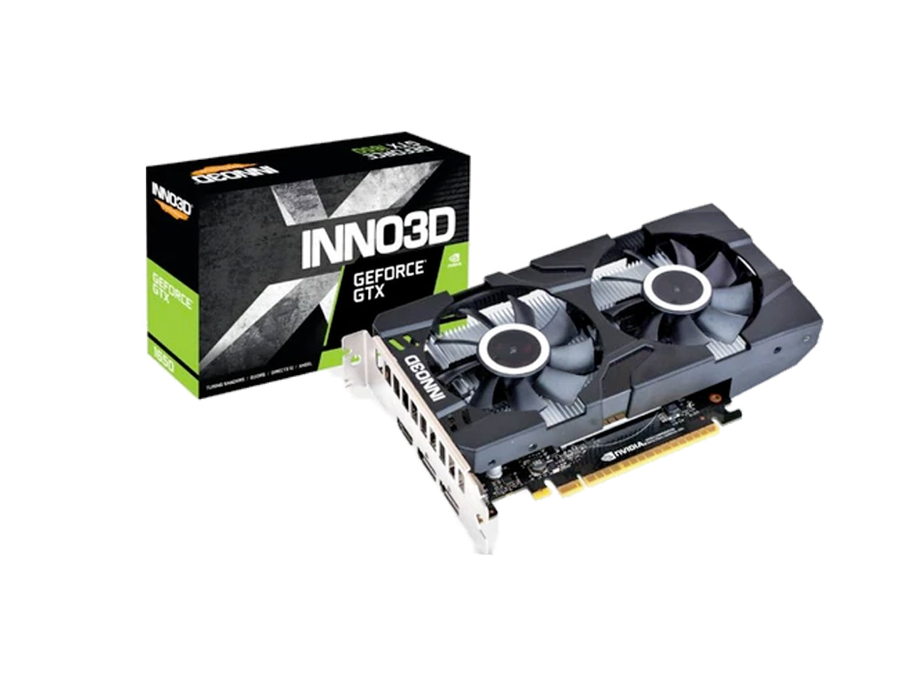 INNO3D GEFORCE GTX 1650 TWIN X2 OC Graphics Card.-computerspace