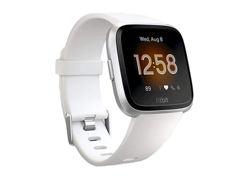 Fitbit Versa Lite Edition Smart Watch (White)-computerspace