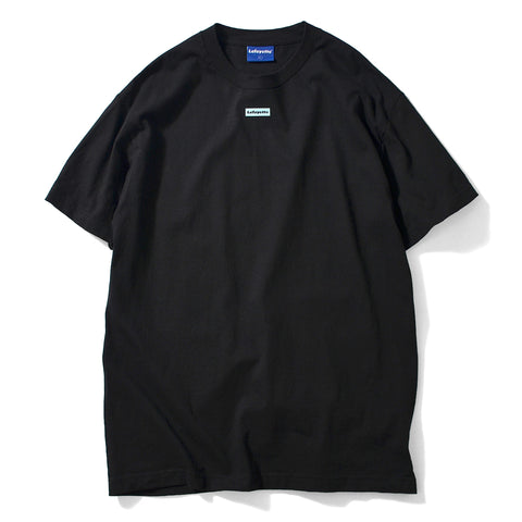 Lafayette Morning Glory Outline Logo Tee Black