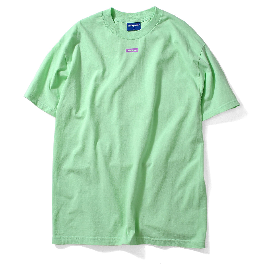 Lafayette Morning Glory Outline Logo Tee Mint