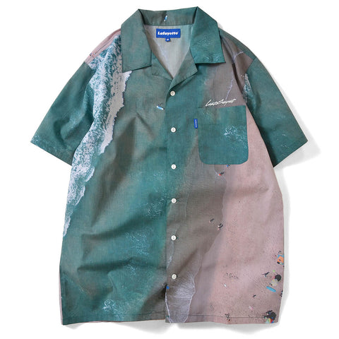 Lafayette x Last Suspect Shore Break S/S Button Shirt