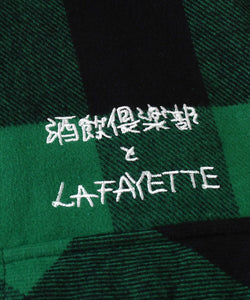 Lafayette x Club Sakenomitai Plaid Flannel Shirt