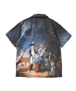 Lafayette French Revolution All Over Open Collar Shirt