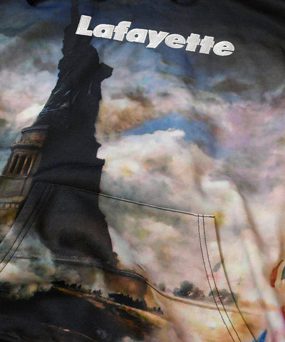 Lafayette Liberty All Over Hooded Sweatshirt