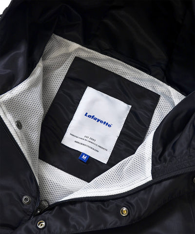 Lafayette Reflector Piping Nylon Anorak Jacket Black