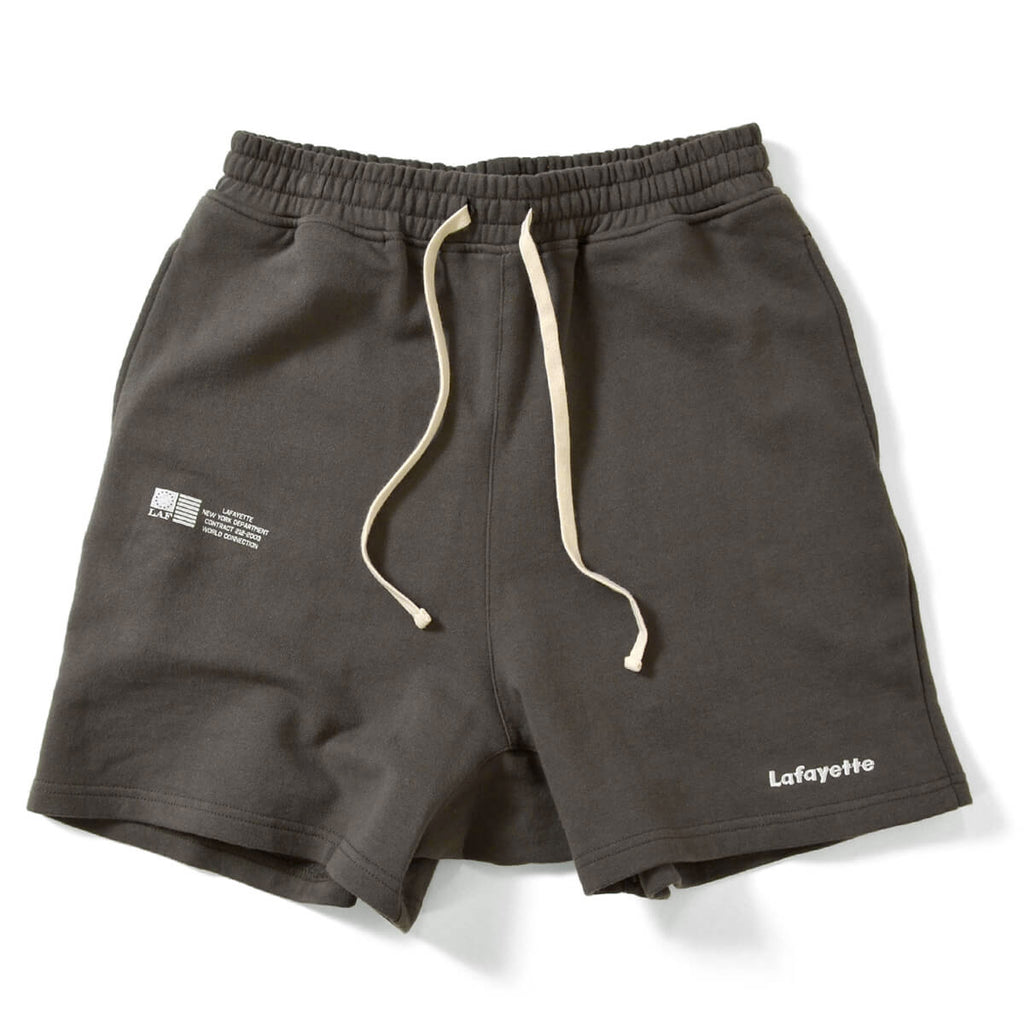 Lafayette Short Inseam Sweat Shorts Black