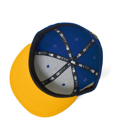 Lafayette All-Star Memorial LF Logo 59Fifty Fitted Cap Royal/Yellow