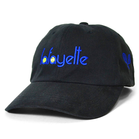 Lafayette Tennis Logo Dad Hat Black