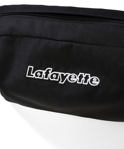 Lafayette Outline Logo Waist Bag Black