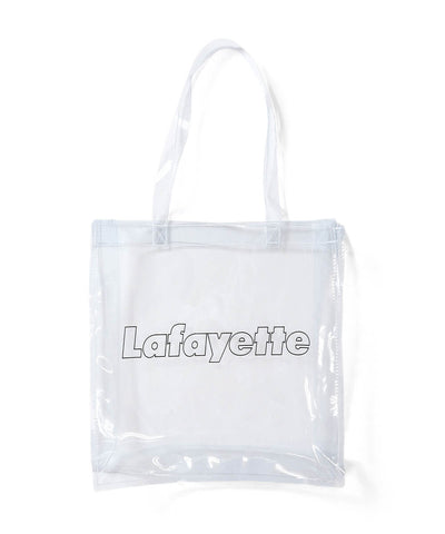 Lafayette Outline Logo Clear PVC Tote Bag