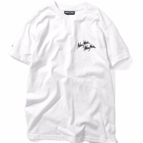 PRIVILEGE NYNY S/S Tee White/Black