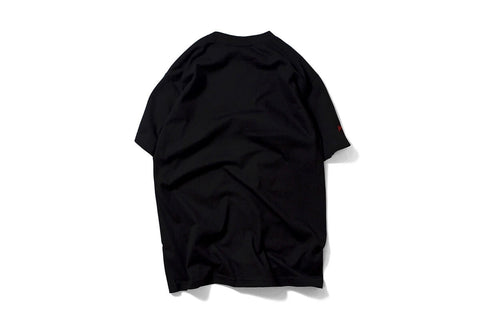 PRIVILEGE x NYNY Distorted Liberty Tee Black