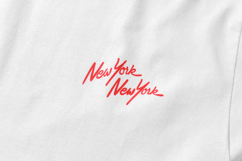 PRIVILEGE x NYNY Two Face  Liberty Tee White/Red