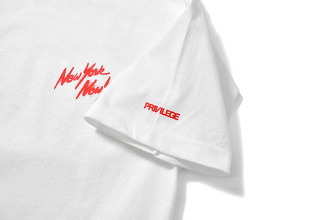 PRIVILEGE x NYNY Pitbull Tee White
