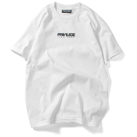 Privilege New York Logo Tee White
