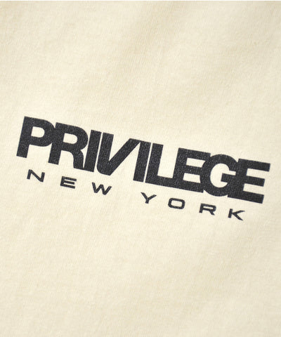 Privilege New York Logo Tee Cream