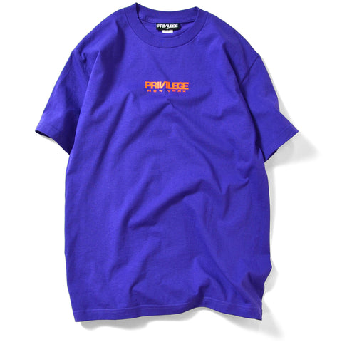Privilege New York Logo Tee Purple