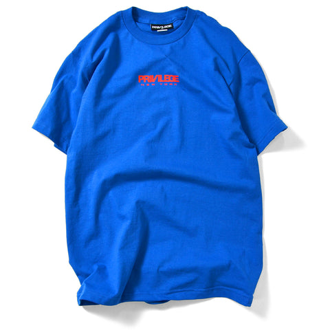 Privilege New York Logo Tee Royal