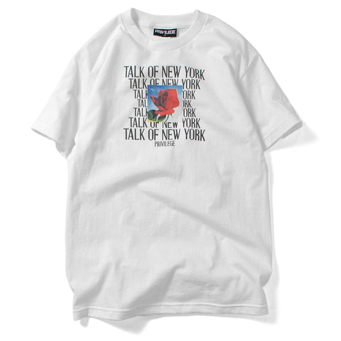 Privilege Talk Of New York Tee White
