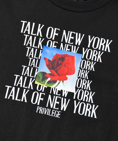 Privilege Talk Of New York Tee Black