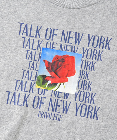 Privilege Talk Of New York Tee Grey