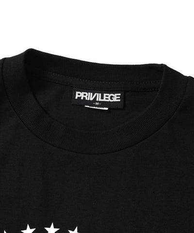 Privilege MOTION PICTURE GROUP L/S TEE BLACK