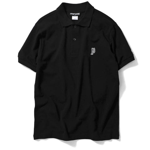 PRIVILEGE x NYNY Pitbull Polo Shirt Black