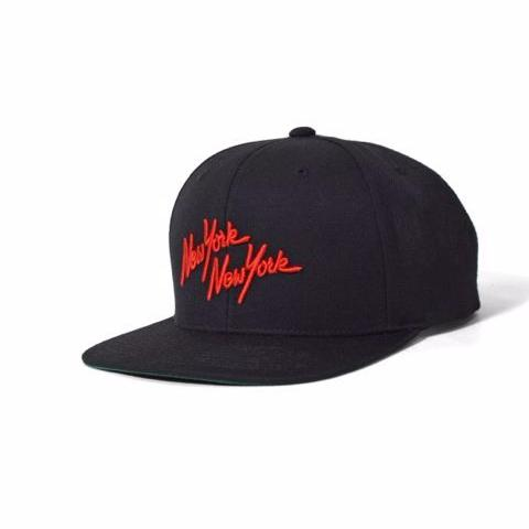 PRIVILEGE NYNY Snapback Cap Black/Red