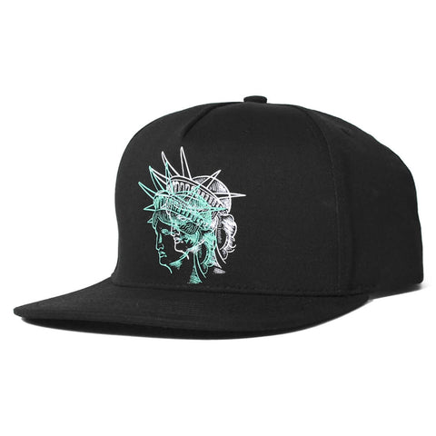 PRIVILEGE x NYNY Double Liberty Snapback Black