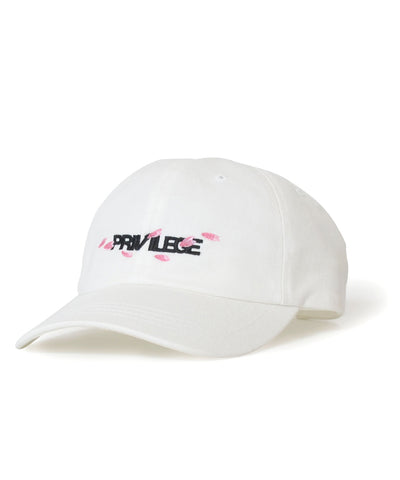 PRIVILEGE Sakura Ball Cap White