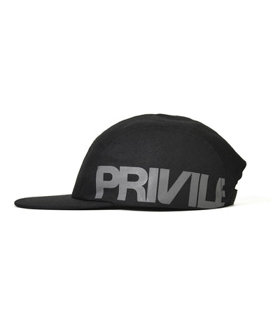 PRIVILEGE Camp Cap Black