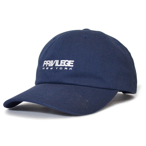 PRIVILEGE New York Dad Cap Navy