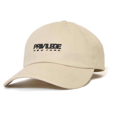 PRIVILEGE New York Dad Cap Khaki