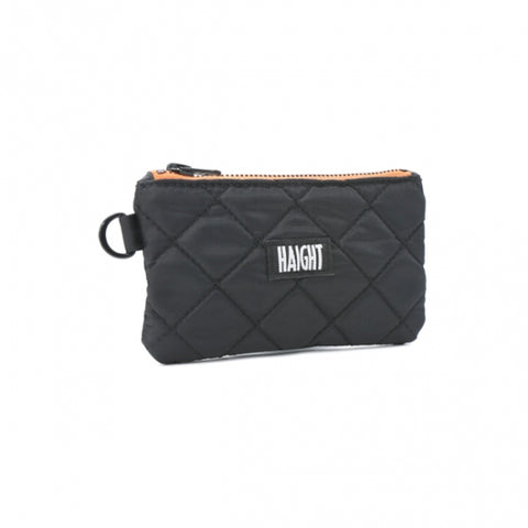 Haight Quilted Pouch Small Black