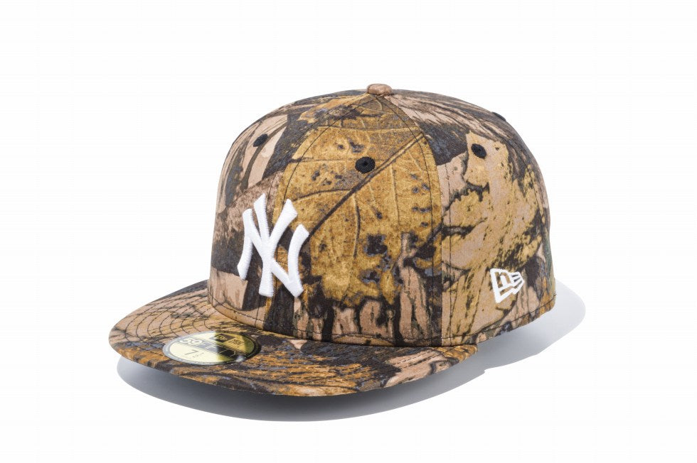 NEW ERA New York Yankees Tree Camo 59Fifty Fitted Cap