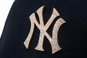 NEW ERA New York Yankees Diamond 59Fifty Fitted Cap Black