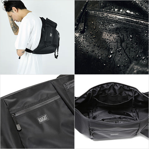 Haight Waterproof Should Bag Black