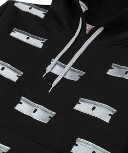 Public Housing Skate Team Razor Embroidered Hoodie Black