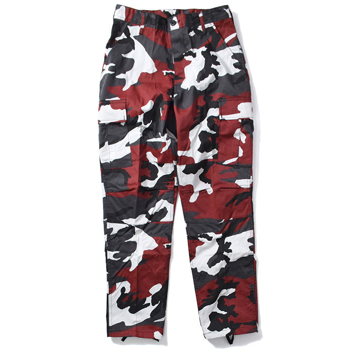 ROTHCO COLOR CAMO TACTICAL BDU PANT RED CAMO