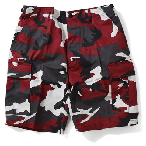 ROTHCO BDU SHORT - Red Camo