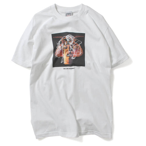 Saints & Sinners Last Judgement Tee White