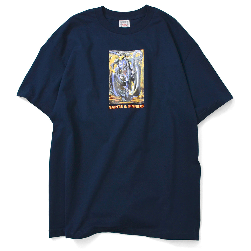 Saints & Sinners King Knight Tee Navy