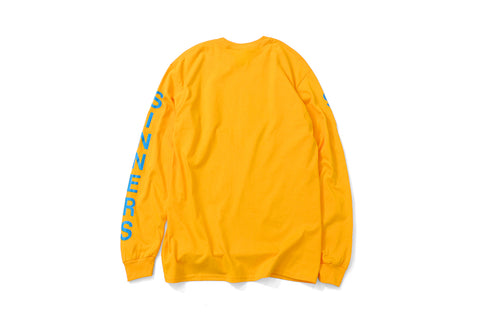 Saints & Sinners Bone Ghost L/S Tee Yellow