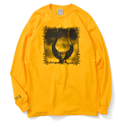 Saints & Sinners Furious Anger L/S Tee Yellow