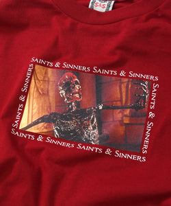 Saints & Sinners Skeleton L/S Tee