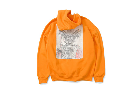 Saints & Sinners 4th Grade Devil Pullover Sweatshirt Orange