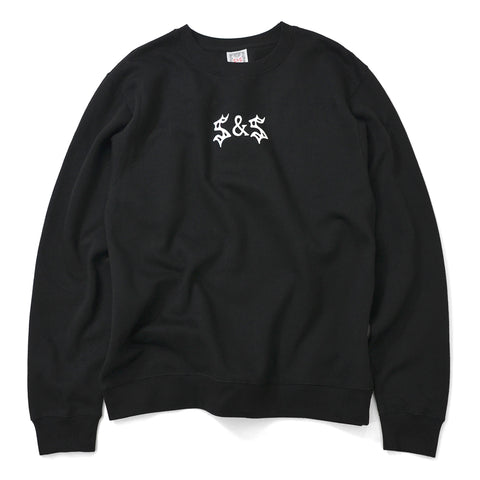 Saints & Sinners Bondage Crew Sweatshirt Black