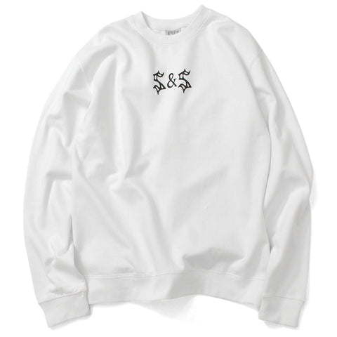 Saints & Sinners Bondage Crew Sweatshirt White