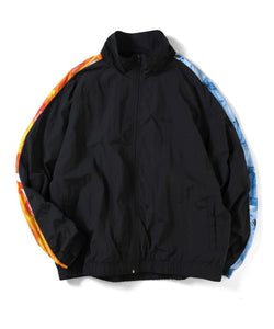 Saints & Sinners Fire Water Nylon Track Jacket