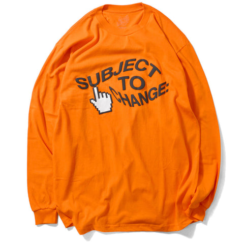 Dotkreep Subject To Change L/S Tee Orange